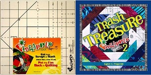 Trash to Treasure Pineapple Quilts 2 Book with Pineapple Tool